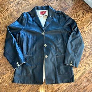 Cole Haan Studio Leather Jacket